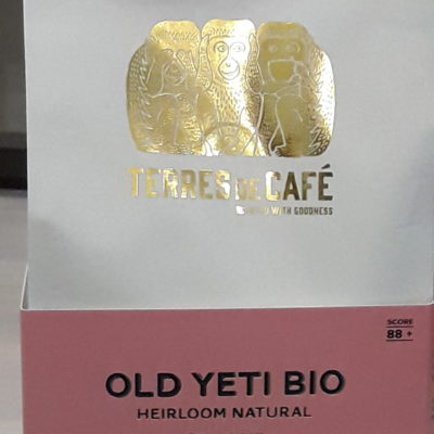 café Old Yeti Bio en grains