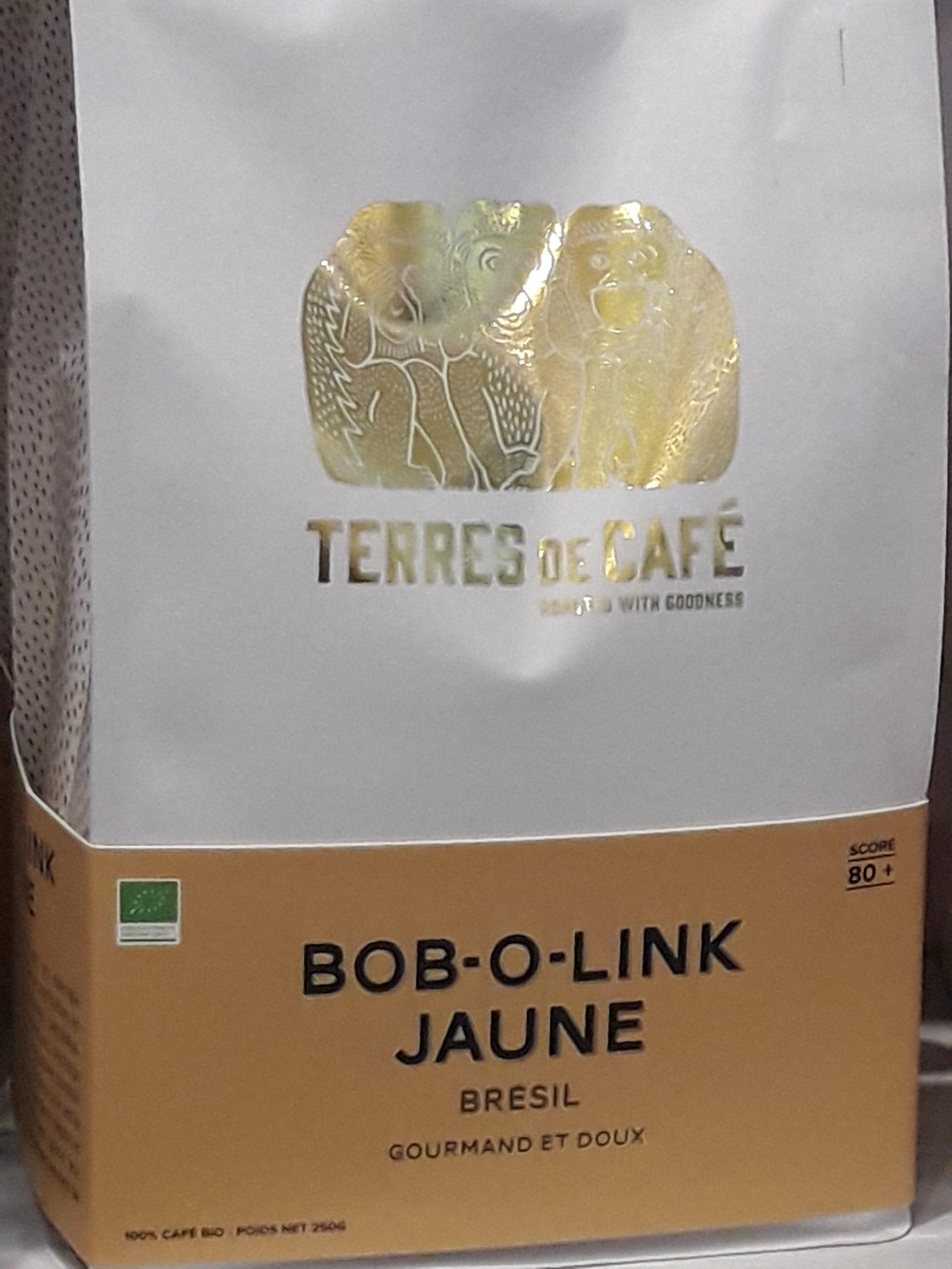 café Bob-O-Link Bio en grains
