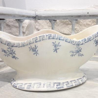 saucier vintage en porcelaine