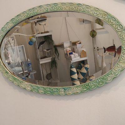 Miroir vintage ovale